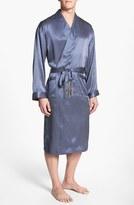 Majestic International 'Cypress' Silk Dot Robe