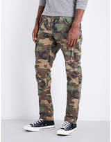 Polo Ralph Lauren Camouflage-patterned Slim-fit Tapered Cotton Trousers