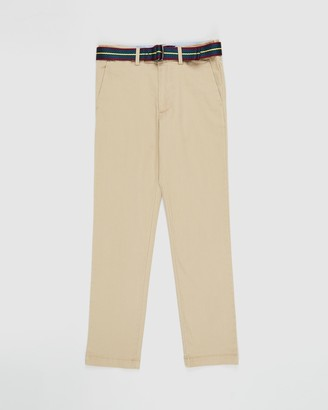 Polo Ralph Lauren Belted Super Skinny Chino Pants - Teens