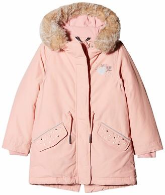 S'Oliver Girl's 58.808.52.7047 Regular Fit Long Sleeve Coat