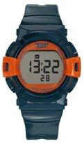 Trendy Junior Trendy KL261 Junior Boy's Watch Digital Quartz Orange Plastic Strap Blue Dial