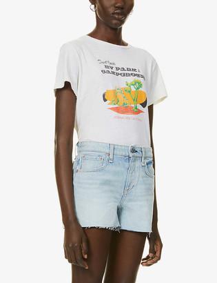 Rag & Bone Low-rise denim shorts