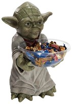 BuySeasons Star Wars Yoda Halloween Candy Bowl and Holder