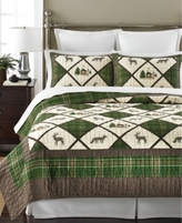 Martha Stewart Collection CLOSEOUT! Collection Lodge Living King Quilt