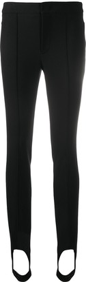 MONCLER GRENOBLE High-Waisted Stirrup Skinny Trousers
