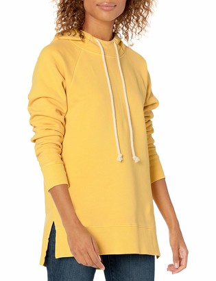 Goodthreads Heritage Fleece Hooded Tunic Dress Shirt