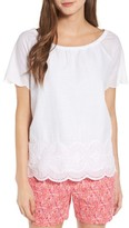 Vineyard Vines Women's Eyelet Cotton Top