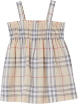 Burberry Smocked Dress