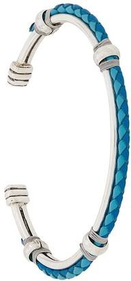 Gas Bijoux Woven Leather Bracelet