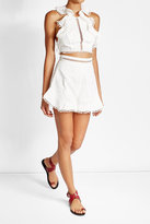 Zimmermann Lace Cotton Shorts