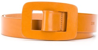 Closed Thin Buckled Belt