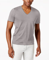 INC International Concepts Men's V-Neck Polished T-Shirt, Only at Macy's