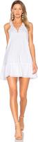 J.o.a. Lace Up Mini Dress