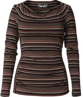 Royal Robbins Essential Tencel Stripe Cowl Neck (Women's)