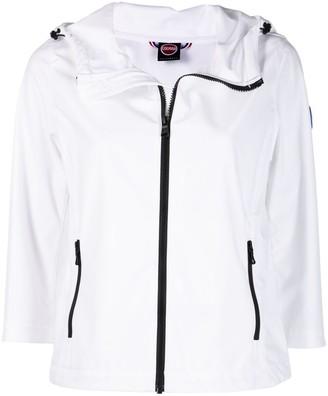 Colmar Logo-Patch Cropped Jacket