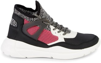 KENDALL + KYLIE North Mixed-Media Sneakers