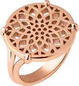 Links of London Timeless 18ct rose-gold vermeil coin ring