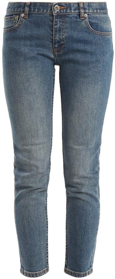 A.P.C. Etroit Court low-rise skinny jeans
