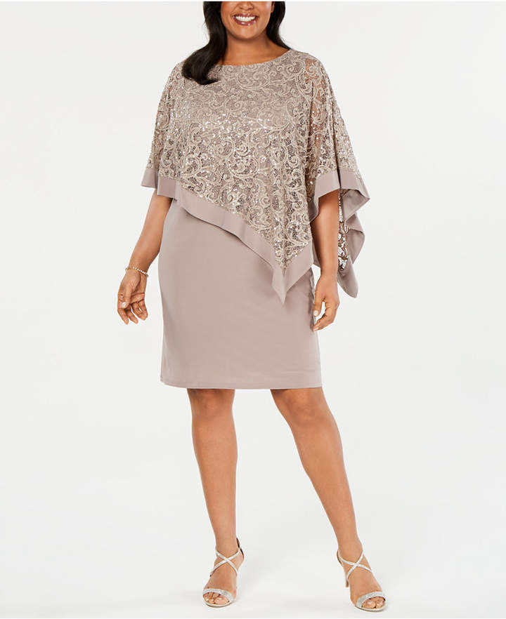 Plus Size Sequin Dress - ShopStyle
