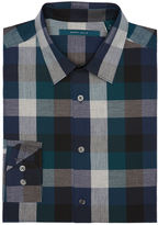 Perry Ellis Exploded Heather Plaid Shirt