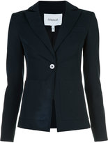 Derek Lam 10 Crosby patch pocket blazer - women - Cotton/Elastodiene/Rayon - 0