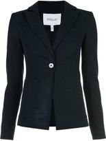 Derek Lam 10 Crosby patch pocket blazer - women - Rayon/Cotton/Elastodiene - 0