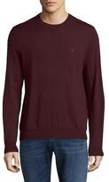 Brooks Brothers Solid Crewneck Merino Wool Sweater