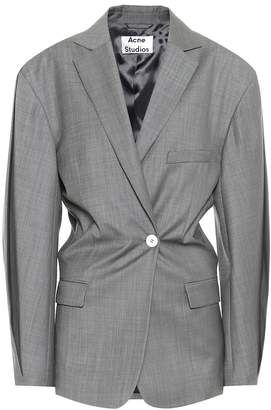 Acne Studios Voluminous wool blazer