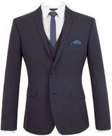 Limehaus Oliver Tonal Check Slim Fit Suit Jacket