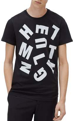Helmut Lang x Marc Hundley Graphic Logo Tee
