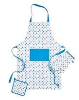 Fashion World Polka Dot Set 3 Apron, Glove & Potholder