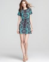 Dress - Sheath Lace Print