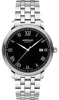 Montblanc 116483 Tradition Date Automatic Bracelet Strap Watch, Silver