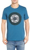 Ben Sherman Men's Optical Target Graphic T-Shirt