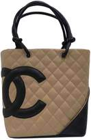 Chanel Cambon leather tote