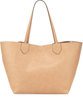 Neiman Marcus Give a Flip Metallic & Matte Reversible Tote Bag
