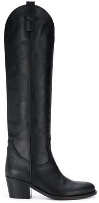 Via Roma 15 low heel boots