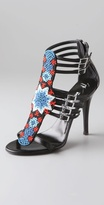 Balmain Giuseppe Zanotti for Beaded Sandals