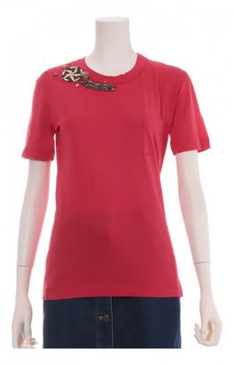 Louis Vuitton Red Cotton Tops