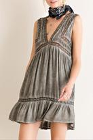 Entro Sleeveless Peasant Dress