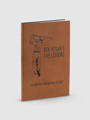 Graphic Image Ben Hogans Five Lessons Genuine Leather