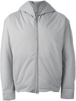 Attachment padded hooded jacket - men - Polyester/Feather Down - 4