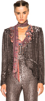 Rodarte Hand Beaded Peplum Jacket