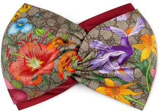 Gucci GG Flora print head band