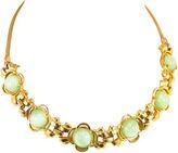 One Kings Lane Vintage Pennino Celadon Cats-Eye Necklace