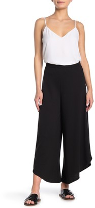 GOOD LUCK GEM High Waist Wide Leg Crop Pants
