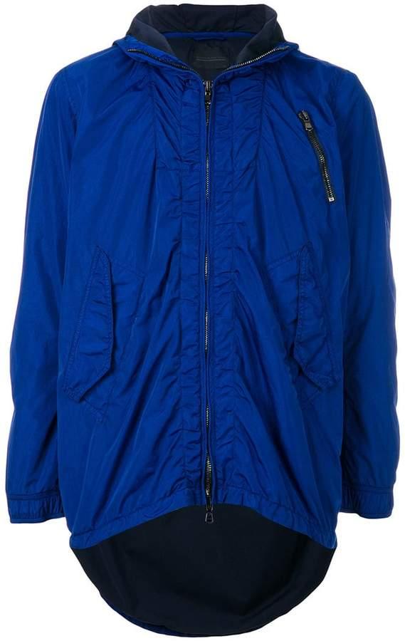 Diesel Black Gold zipped hooded jacket