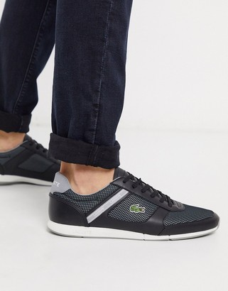 Lacoste menerva sport sneakers black leather