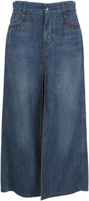 Chloé A-line Long Skirt