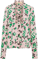 Marni Sistowbell Floral Blouse